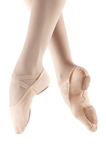 So Danca SD16 Stretch Canvas Split Sole Ballet Shoes Slipper Light Pink